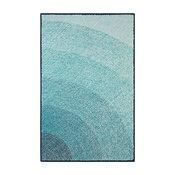 Infinity Hand-Hooked 2'x3' Outdoor Rug, Blue