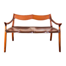 Brawley Made Custom Furniture - Maloof Settee Reproduction - Accent And  Storage Benches