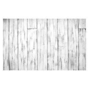 Shiplap Plank Wall- Distressed White Gray, 24
