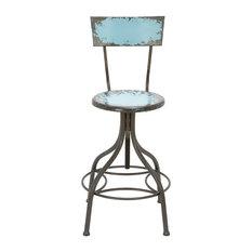 Lammett Bar Chair, Blue