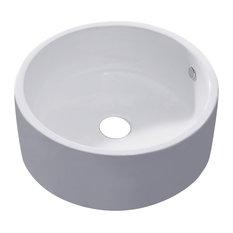 Luxier L-008 Bathroom Porcelain Ceramic Vessel Vanity Sink Art Basin
