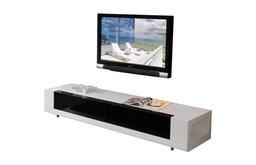 B-Modern Editor TV Stand, White