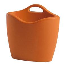 Slide Mag Magazine Rack With Handle, Orange
