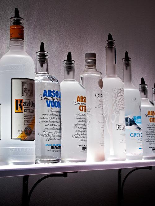 wall mounted liquor shelves. Black Bedroom Furniture Sets. Home Design Ideas