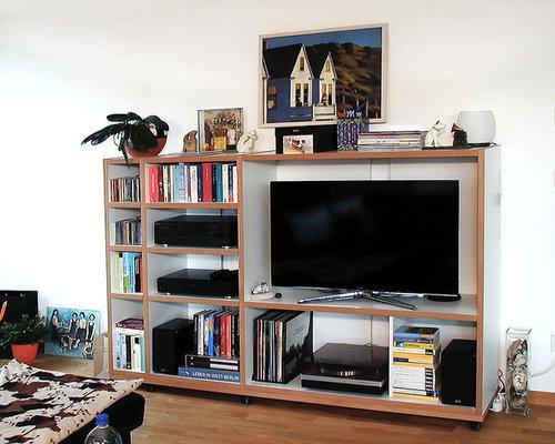 Medienregal S2 - Multimedia-Möbel & TV-Wände