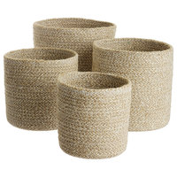 Melia Baskets, Set of 4, Sand