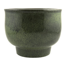 Shade Indoor Plant Pot, Forest Green