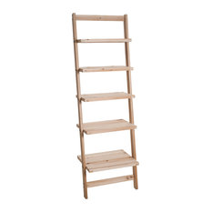 5-Tier Ladder Wood Storage Shelf by Lavish Home