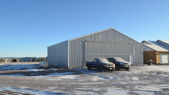60' x 60' x 15' Airplane Hangar Colorado