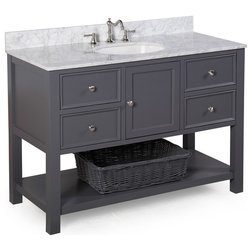 Cute Transitional Bathroom Vanities And Sink Consoles by Kitchen Bath Collection