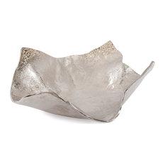 Howard Elliott Champagne Silver Hammered Bowl, Large