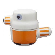 The Pet Family Pot Canister, Orange