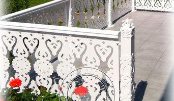 Ограждение террасы в старорусском стиле