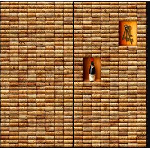 Wine Cellar Wall Mural, 270x240 cm