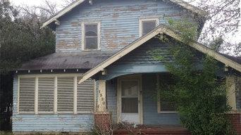 Renovation at 1320 7th Street, Bay City TX 77414