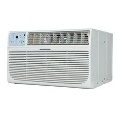 "14,000 BTU Through-the-Wall Air Conditioner, ""Follow Me"" LCD Remote Control"