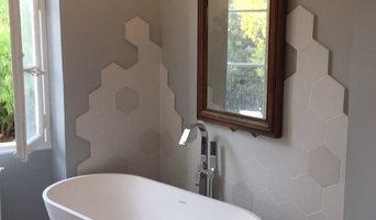 Rénovation d'une salle de bain sur Toulon Ouest dans une maison de 1900