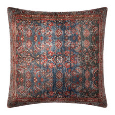 Loloi Decorative Throw Pillow 3'x3' Cover With Poly Multi