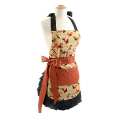 Flirty Aprons - Women's Original Rooster - Aprons
