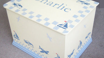Car Boat and Plane Toy Box
