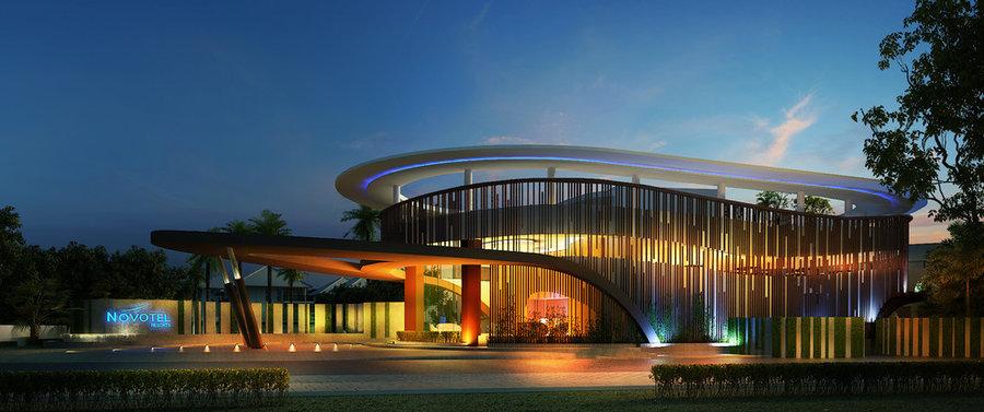 Novotel,Karon beach-Lobby Exterior