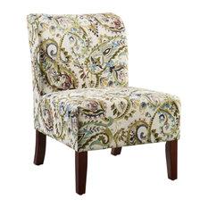 Julie Curved Back Slipper Chair