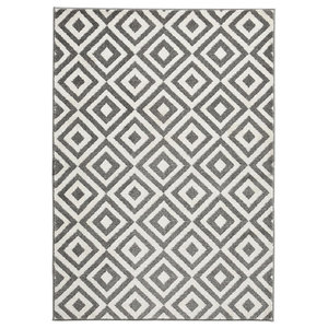 Mantra MT89 Rug, Grey and White, 120x170 cm
