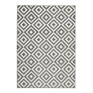Mantra MT89 Rug, Grey and White, 160x220 cm