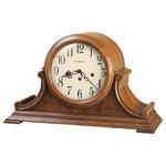 Howard Miller Key Wound Kieninger Movement Chiming Mantel Clock Hadley