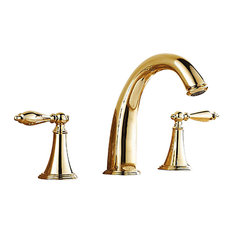 3 Hole Bathroom Sink Faucets Houzz