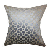 "Kostya Geometric Pillow Purple 20""x20"""