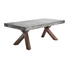 Concrete-Top Dining Room Tables | Houzz