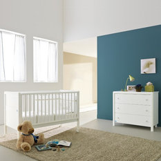 krio contemporary baby cot and chest of drawers set by pali nursery furniture baby nursery furniture kidsmill malmo white