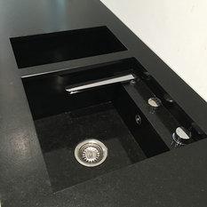 moderne k chensp len houzz. Black Bedroom Furniture Sets. Home Design Ideas