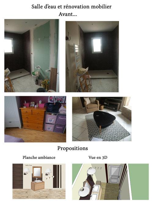 R novation salle d 39 eau et meubles - Meubles salle d eau ...