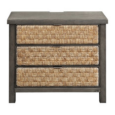 Liberty Furniture Modern Farmhouse 3 Drawer Accent Night Stand