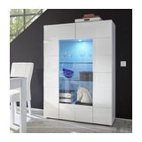 Dama (white) 2 door display unit
