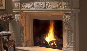 Balmoral Stone Fireplace Mantel