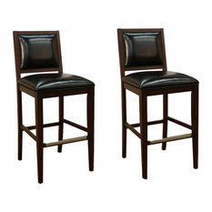 American Heritage American Heritage Bryant Stools Espresso Set of 2
