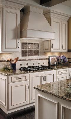 Kitchen cabinets. Pickled oak. Ugh!
