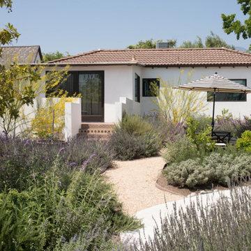 California Spanish Modern Sanctuary