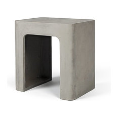 Edge Concrete Stool
