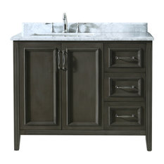 Awesome Ariel By Seacliff Nantucket 42quot SingleSink Bathroom Vanity Set
