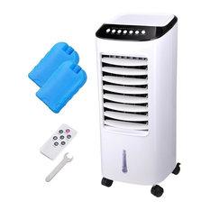 Yescom Evaporative Cooler Portable Air Cooler Humidifier Indoor Outdoor 65W