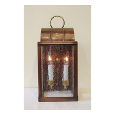 """Solid Copper Wall Lantern, Sconce, """"Smaller 1860"""""""