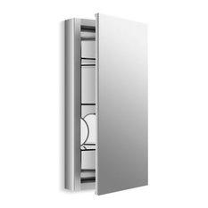"Kohler Verdera 15"" W X 30"" H Medicine Cabinet w/ Adjustable Magnifying Mirror"