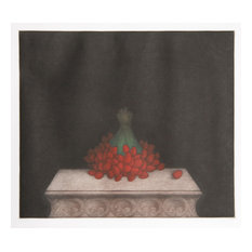 Tomoe Yokoi, Strawberries, Mezzotint