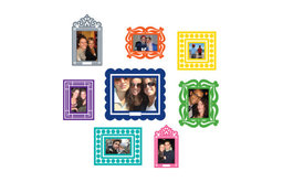 Stickr Frames, Multicolor Set