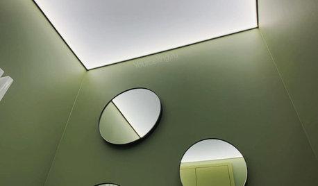Вопрос: Зачем вам натяжной потолок