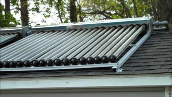 Solar Water Heater Installation.